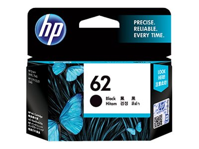HP 62 (T0A52AN) Black Original Ink Cartridges (2-pack)
