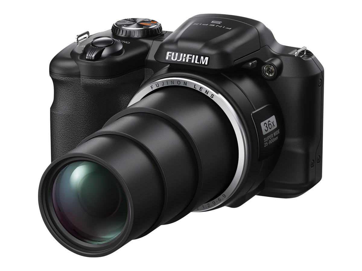Fujifilm FinePix S8600 Camera, 16MP, 36X Zoom, Black, 16407145, 16800678, Cameras - Digital - Point & Shoot