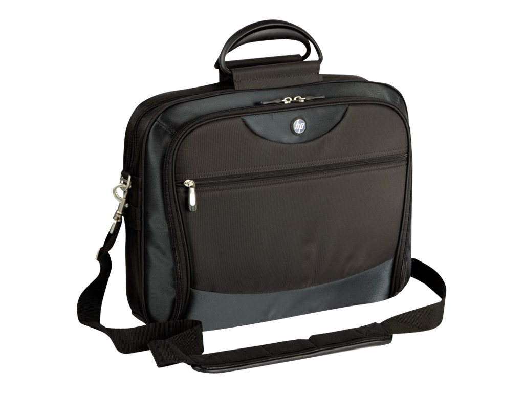 HP 15.4 Evolution Lite Nylon Notebook Case, Black, PE837A, 5905933, Carrying Cases - Notebook