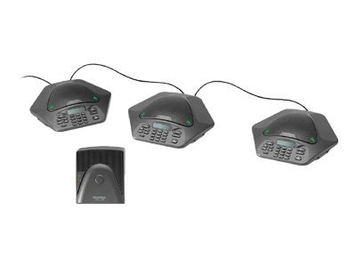 ClearOne MaxAttach IP with +1 Three Phones, 910-158-370-01, 13088101, Phone Accessories