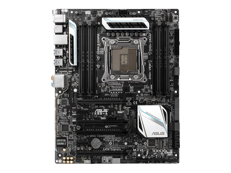 Asus Motherboard, X99-A, X99-A, 17761885, Motherboards