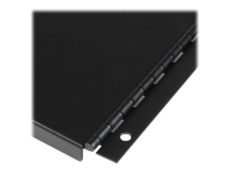 StarTech.com Solid Blank Panel w  Hinge for Server Racks, 4U, RKPNLHS4U