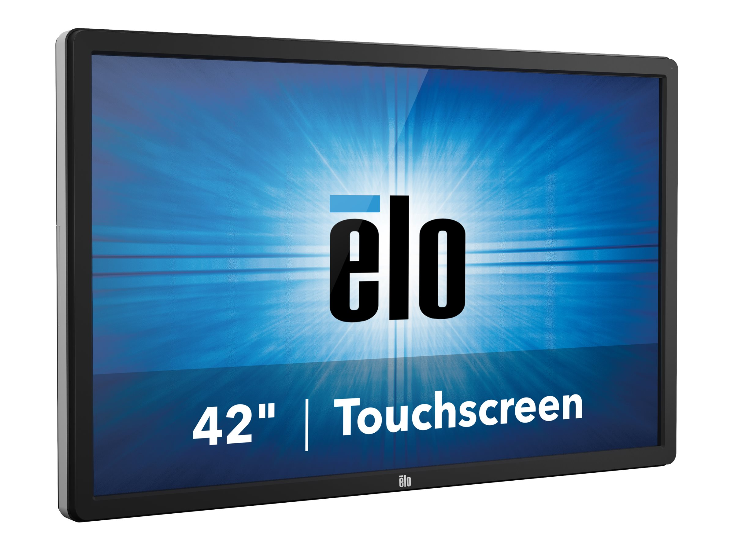 ELO Touch Solutions 4202L 42-inch WS LCD Touchscreen VGA HDMI Monitor DP Projected CAP USB, Clear Gray, E222372