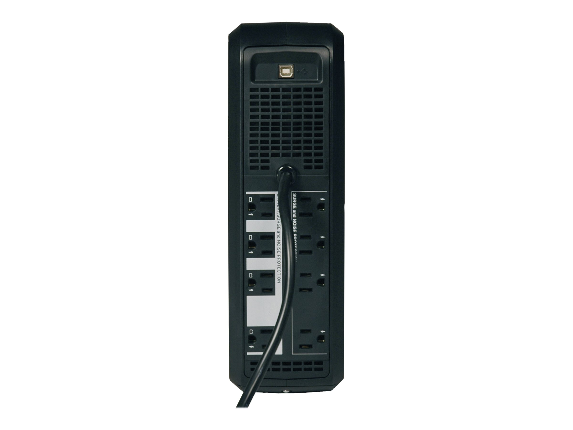 Tripp Lite 650VA UPS Omni Smart Rack Tower Digital LCD Line-Interactive (8) Outlet, OMNI650LCD