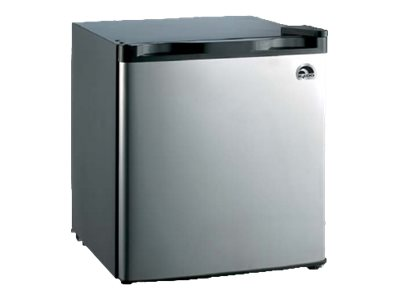 Igloo 1.7 cu. ft. Mini Fridge, Stainless Steel, FR180