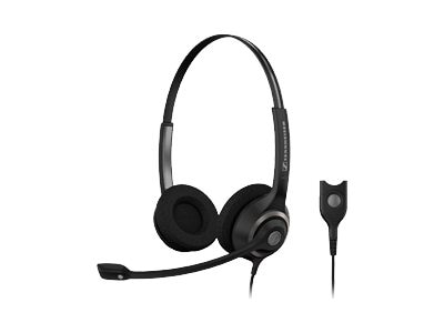 Sennheiser SC260 Over-the-head Dual Sided Circleflex Headset, Noise-Canceling, SC260, 13694283, Headsets (w/ microphone)