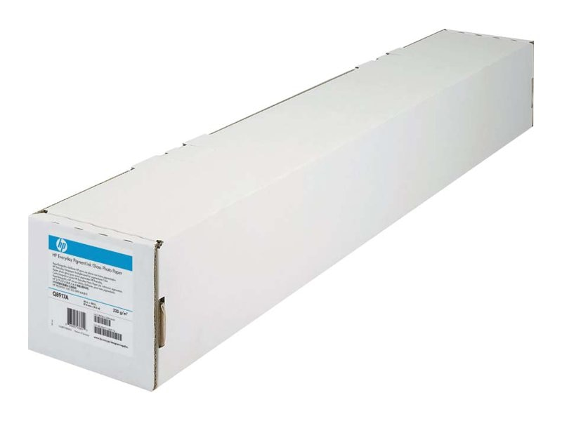 HP 42 x 100' Everyday Matte Polypropylene (2 Rolls), CH025A, 10202394, Paper, Labels & Other Print Media