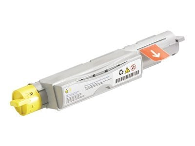 Dell Yellow Toner Cartridge for 5110cn Printer, 310-7895, 10956655, Toner and Imaging Components