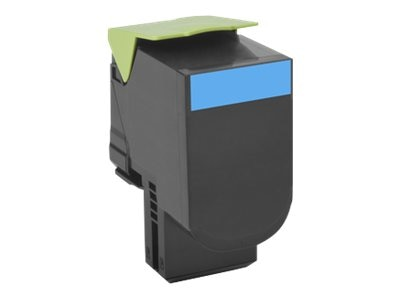Lexmark 801C Cyan Return Program Toner Cartridge