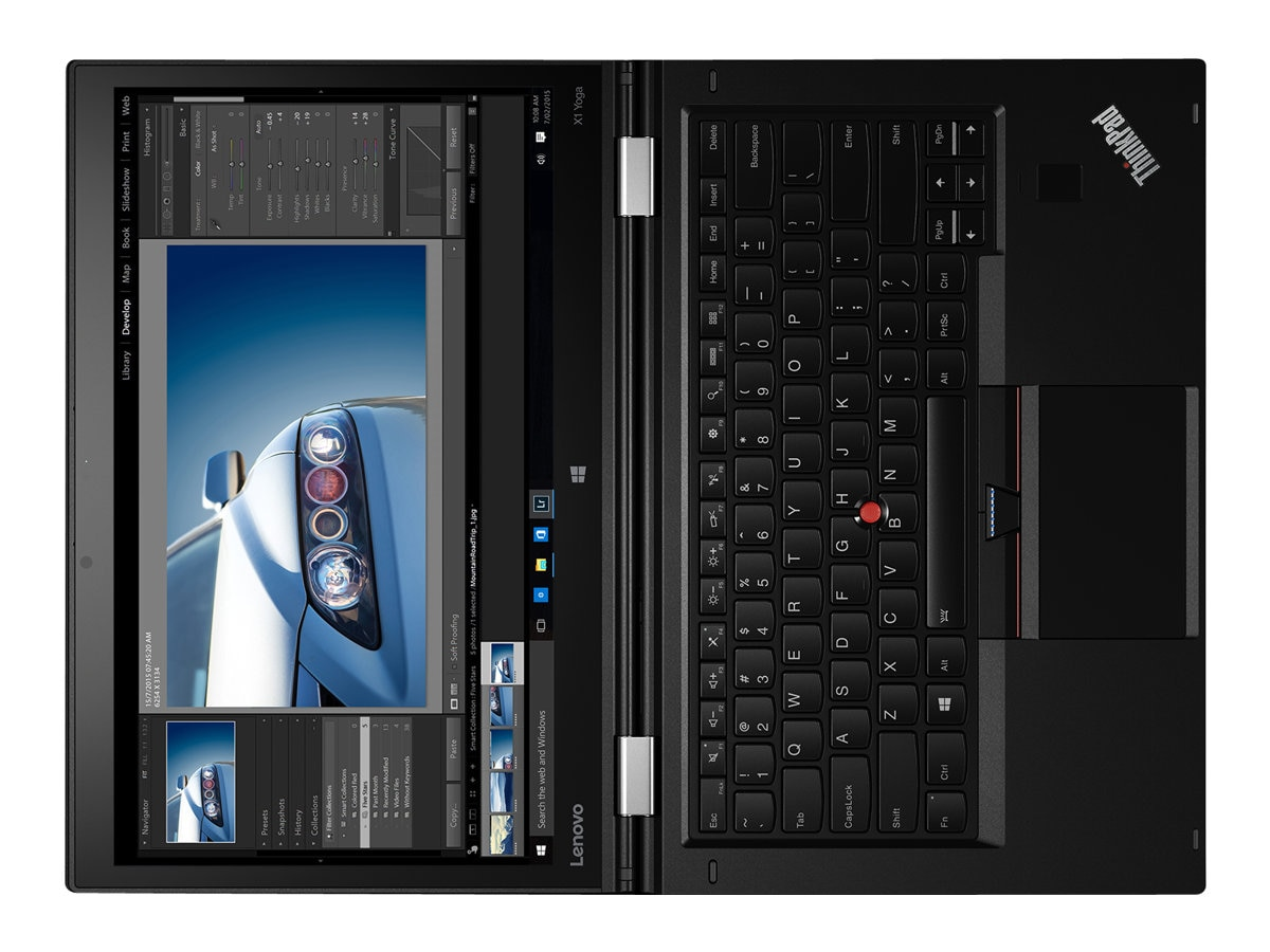 Lenovo TopSeller ThinkPad X1 Yoga G1 Core i7-6600U 2.6GHz 8GB 512GB SSD ac BT FR WC WiG 14 WQHD MT W10P64, 20FQ0035US