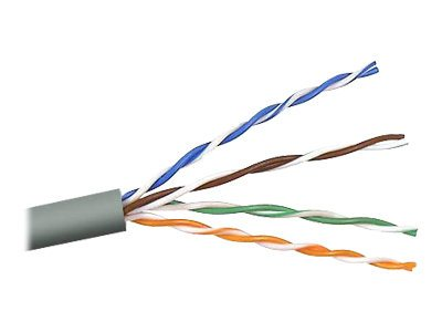 Belkin Cat5e Outdoor-Rated Bulk Cable, Gel-Filled, 1000ft, A7L504-1000-G-O, 6756079, Cables