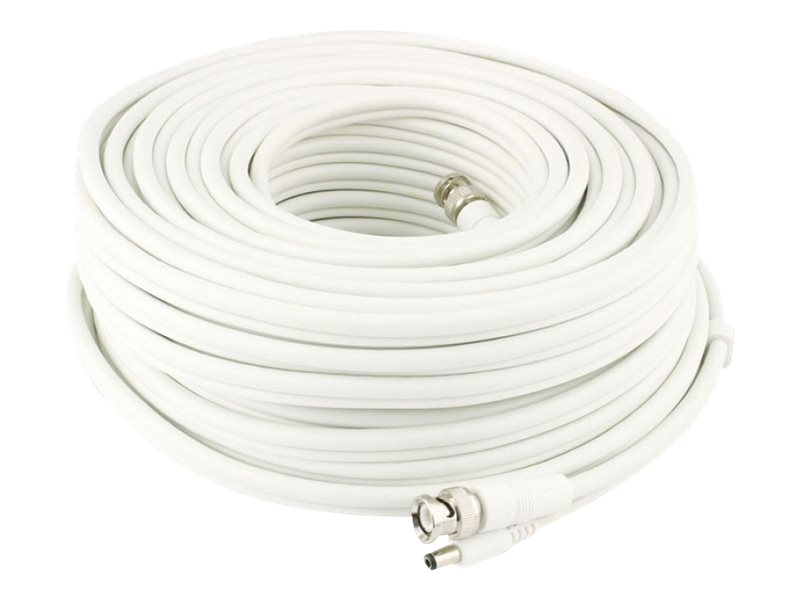 Swann BNC to BNC M F Cable, White, 15m
