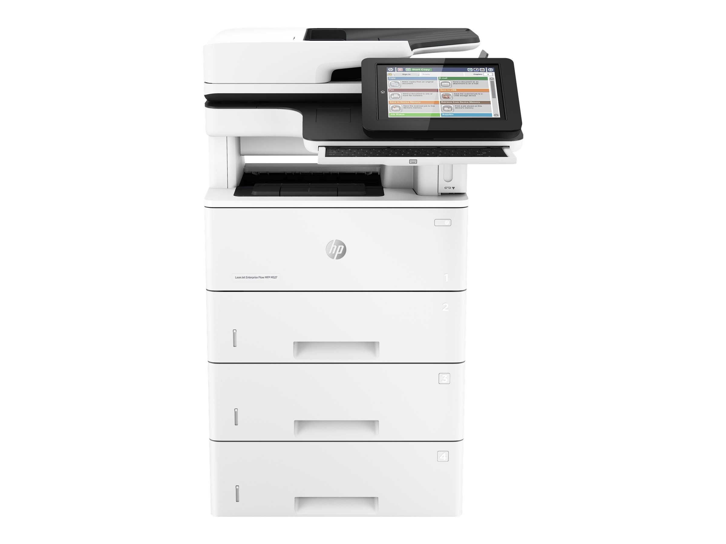 HP LaserJet Enterprise Flow MFP M527c, F2A81A#BGJ, 30779060, MultiFunction - Laser (monochrome)