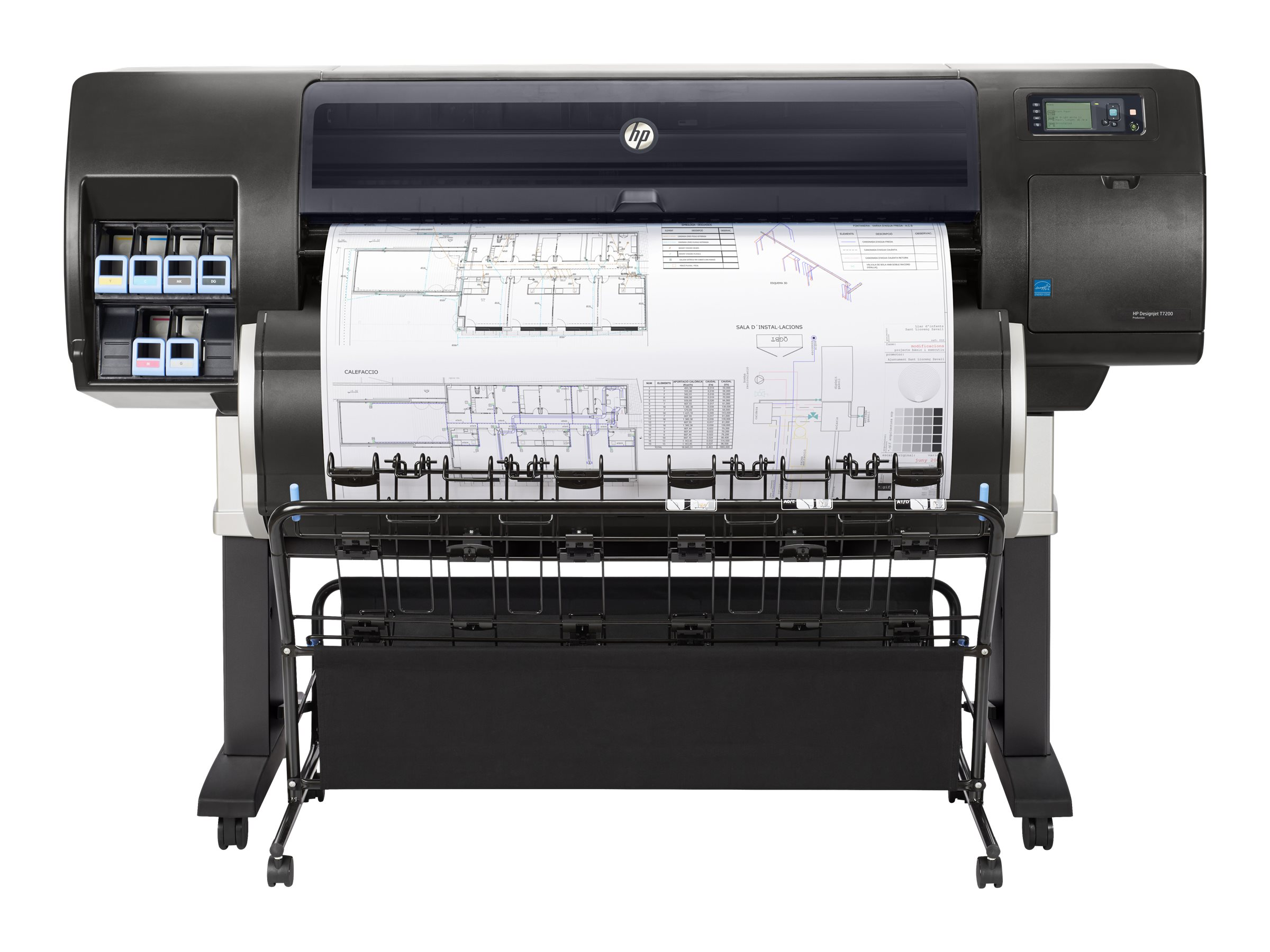 HP Designjet T7200 High Definition Production Printer, F2L46B#BCB