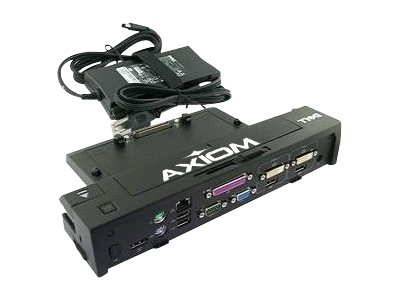Axiom 130W E-Port Plus USB 3.0 Port Replicator, 331-6304-AX