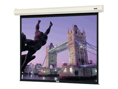 Da-Lite Cosmopolitan Electrol Projection Screen, High Contrast Matte White, 16:10, 130