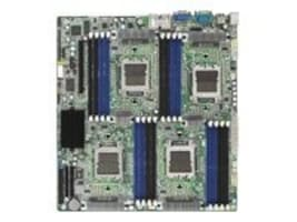 Tyan Motherboard, MCP55 Pro, Quad Opteron, EATX, Max 64GB DDR2, PCIEX16, 2GBE, Video, SATA 3Gb, S4980G2NR, 7771908, Motherboards