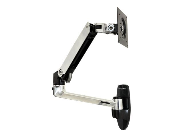 Ergotron LX Wall Mount Arm for Flat Panel, 45-243-026