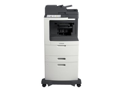 Lexmark MX810dxfe Monochrome Laser Multifunction Printer, 24T7416, 14908571, MultiFunction - Laser (monochrome)