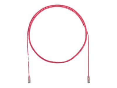 Panduit Cat6e 28AWG UTP CM LSZH Copper Patch Cable, Pink, 20m