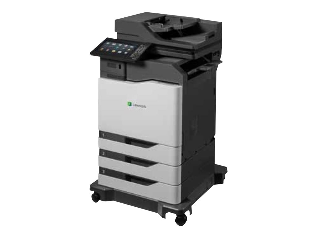Lexmark CX825dte Color Laser MFP w  CAC Enablement, 4-Year Onsite Repair & Air Force Code (TAA Compliant)