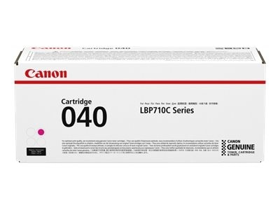 Canon CRG040 Magenta Toner Catridge for LBP712Cdn, 0456C001