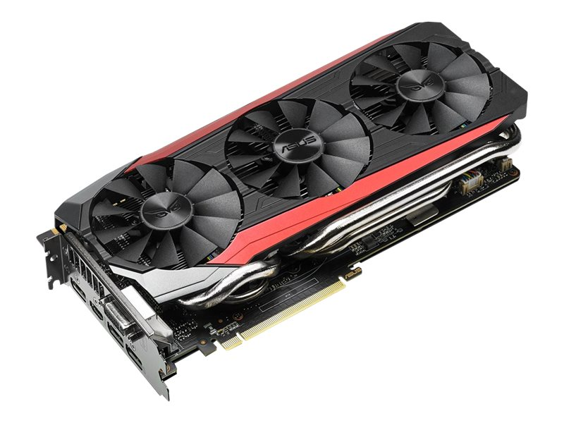 Asus NVIDIA STRIX GTX 980 Ti PCIe 3.0 Graphics Card, 6GB GDDR5, STRIXGTX980TIDC36GD5, 30790171, Graphics/Video Accelerators