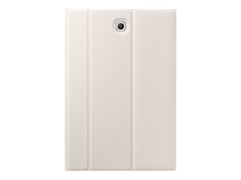 Samsung Book Cover for Galaxy Tab S2 8.0, White, EF-BT710PWEGUJ