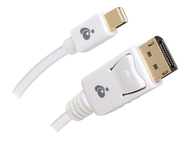 IOGEAR Mini DisplayPort to DisplayPort Cable, 6ft, G2LMDPDP02