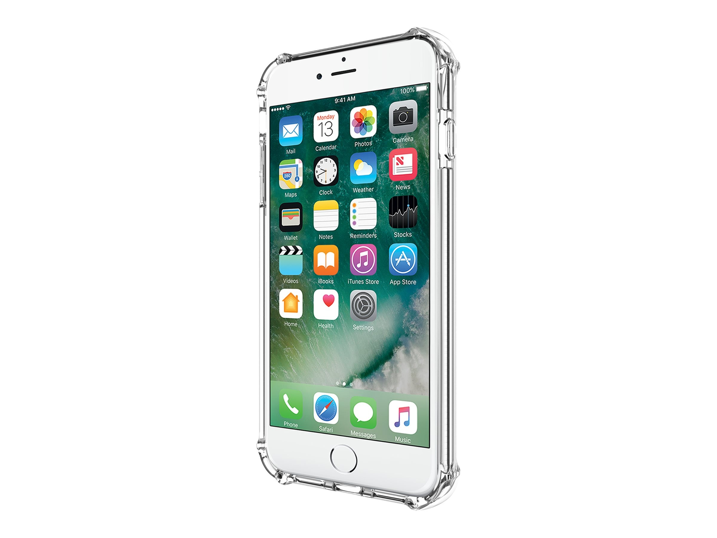 Incipio Reprieve Sport Protective Case with Reinforced Corners for iPhone 7 Plus, Clear Clear, IPH-1496-CLR