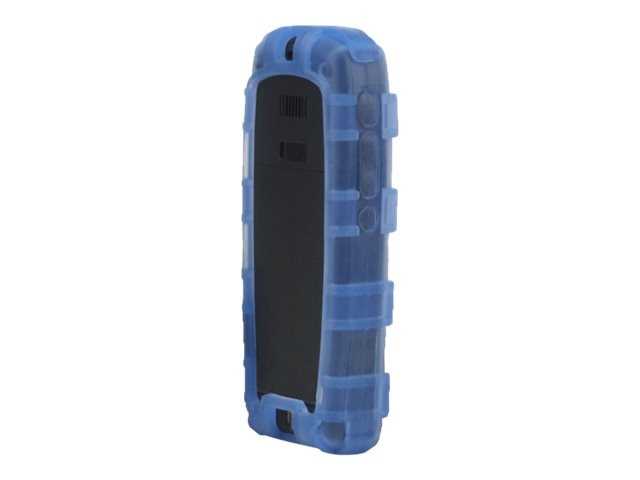 Zcover Silicone Back Open Dock-In-Case for Cisco 7925G 7925G-EX, Blue, CI925BBL