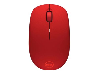 Dell WM126 Wireless Optical Mouse, Red