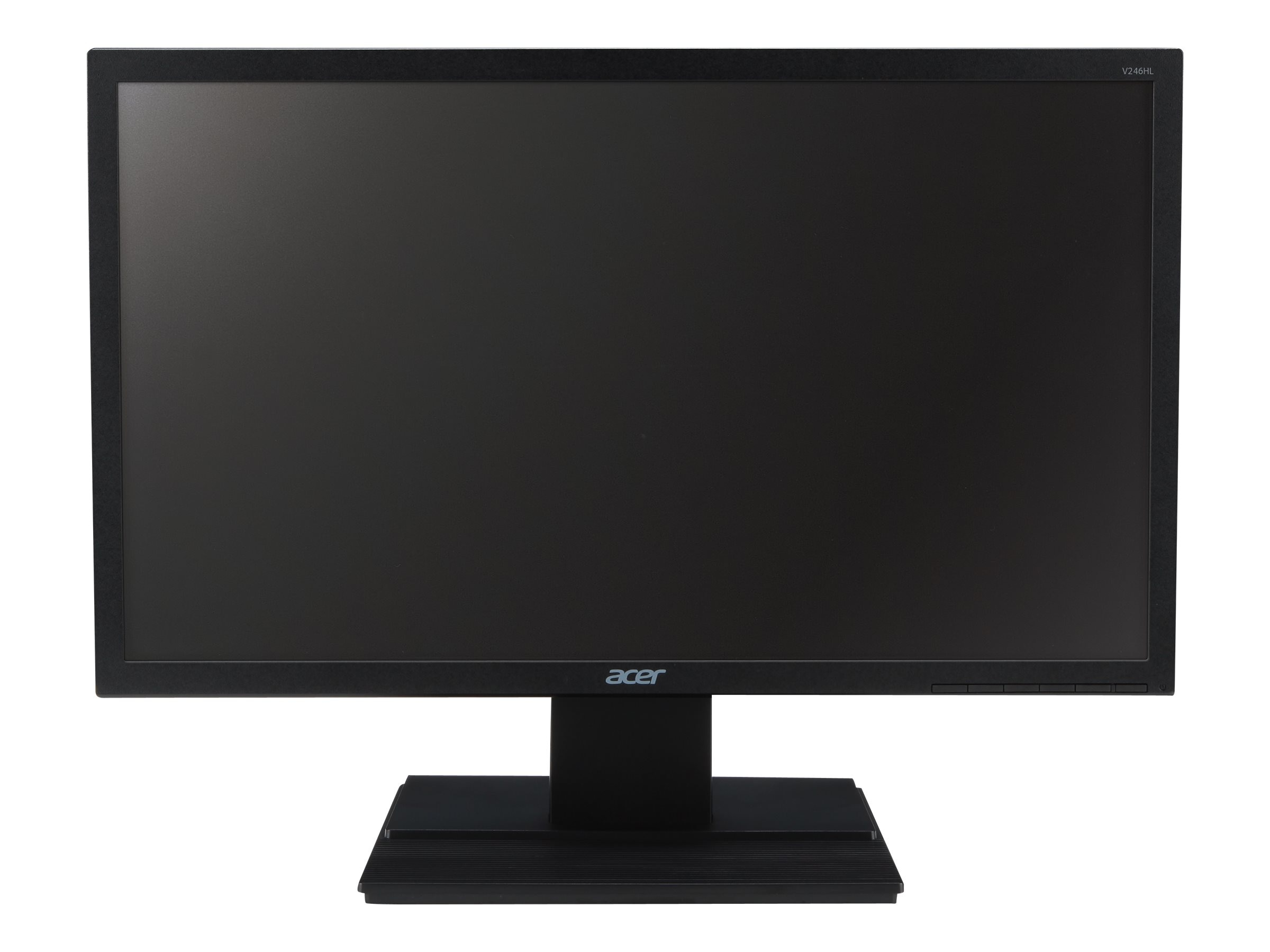Acer 24 V246WL ydp LED-LCD Monitor, Dark Gray, UM.FV6AA.006, 18509446, Monitors - LED-LCD