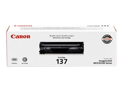 Canon Black 137 Toner Cartridge, 9435B001, 17752410, Toner and Imaging Components
