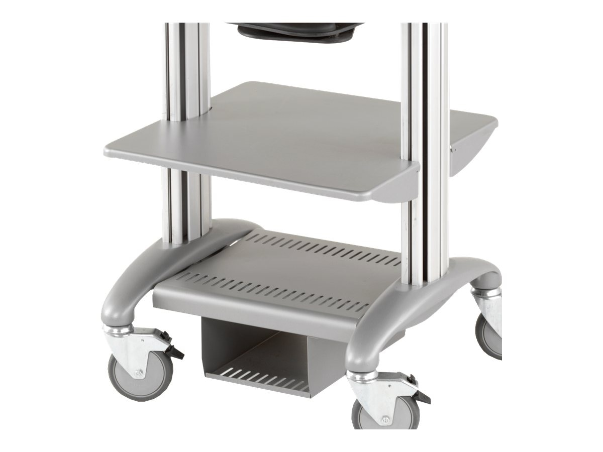 Ergotron 24W Convoi Metal Base Shelf, 24IBSM