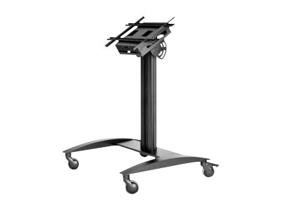 Peerless SmartMount Universal Kiosk Cart for 32 to 75 Displays, SR575K