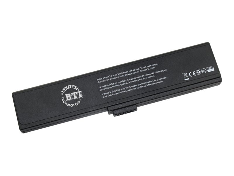 BTI Battery for ASUS W7 Series A32-W7, AS-W7B