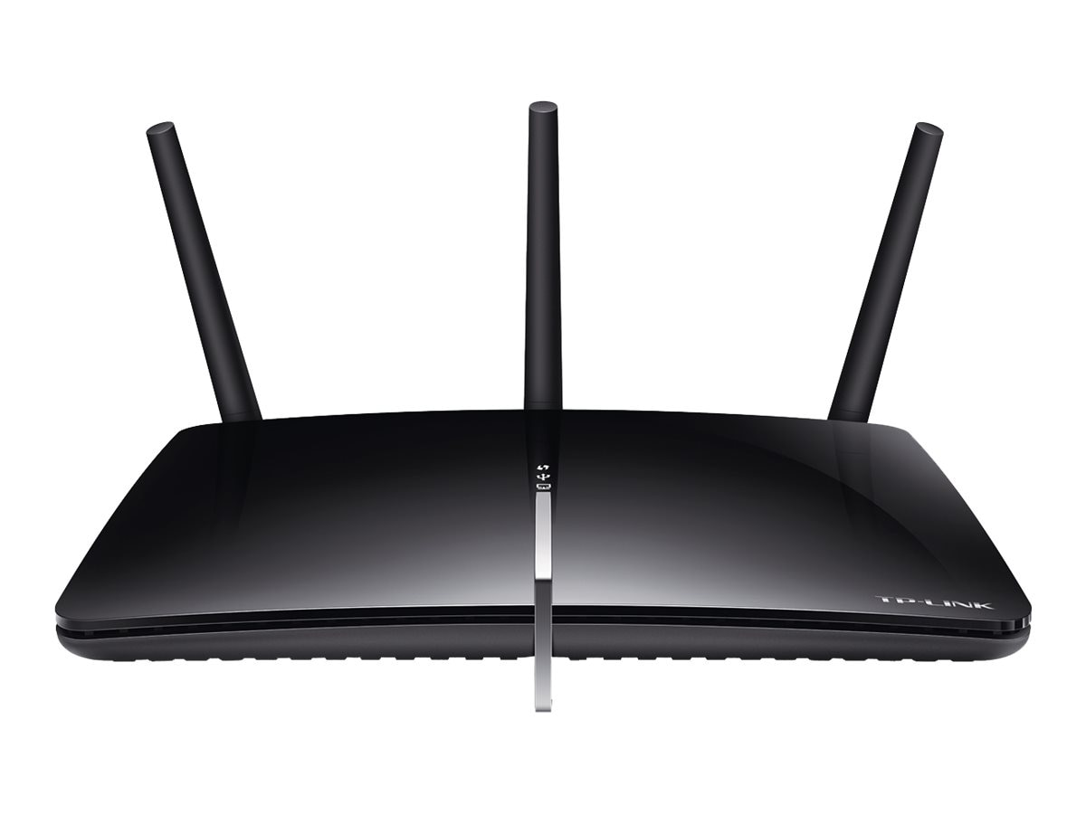 TP-LINK AC1750 Wireless Dual Band Gigabit ADSL2+ Modem Router, ARCHER-D7, 18140132, Network Routers