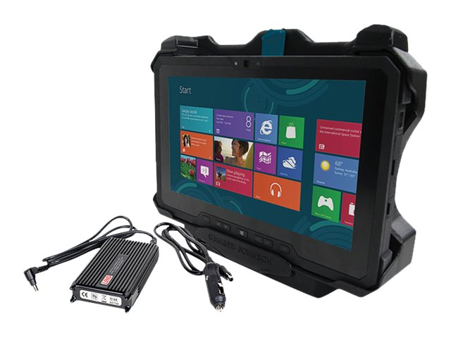 Gamber-Johnson Vehicle Docking Station for Latitude 12 Rugged with Power Supply (No RF)