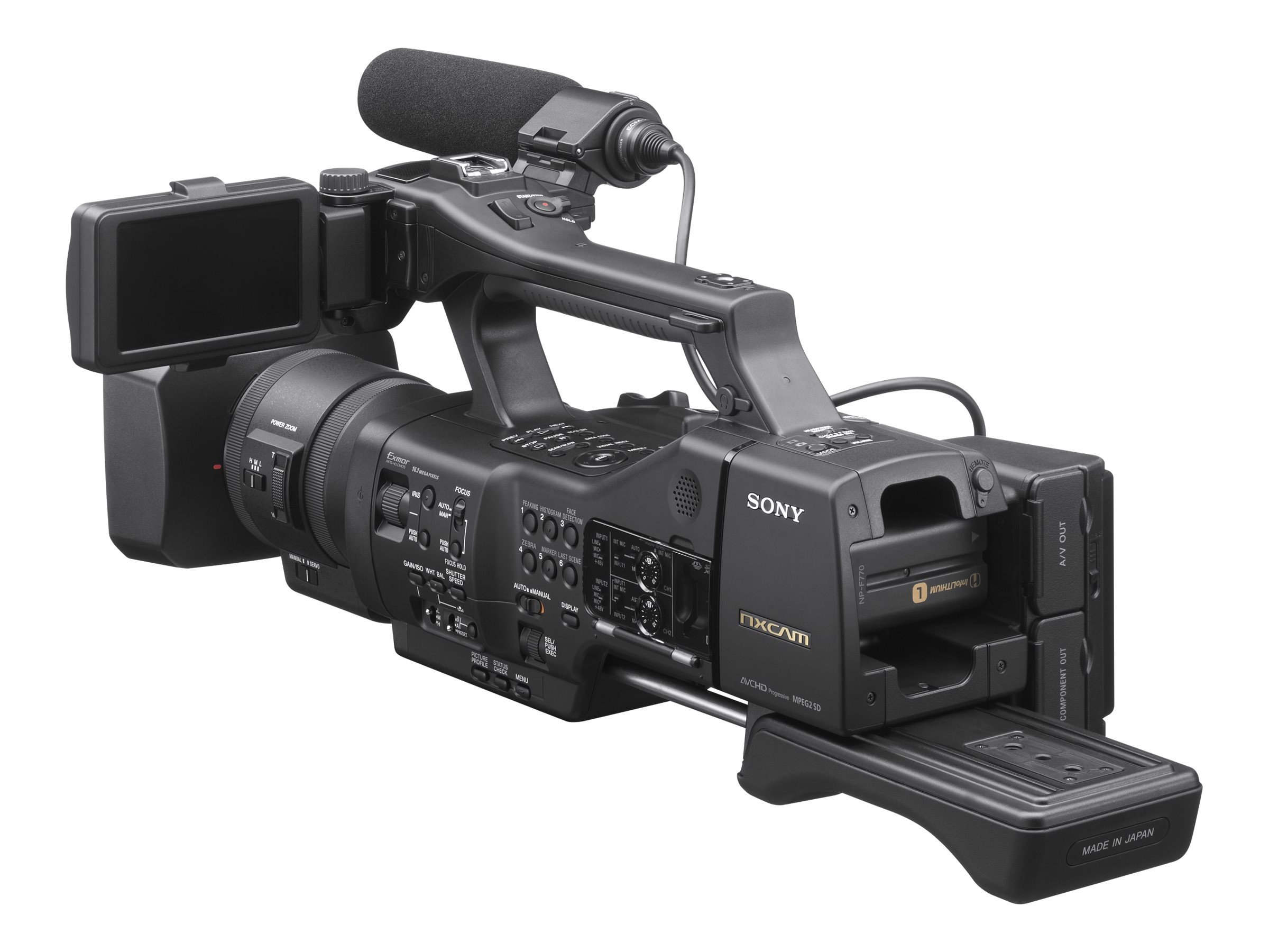 Sony NEX-EA50UH Entry-Level Large Sensor NXCAM Camcorder, NEXEA50UH