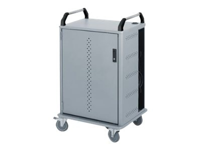 Ergotron Mobile Notebook Storage and Charging Cart, 10-Unit, NCC10WH/SM5, 12165398, Computer Carts