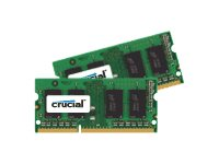 Crucial 8GB PC3-12800 204-pin DDR3 SDRAM SODIMM Kit, CT2KIT51264BF160BJ, 16959793, Memory