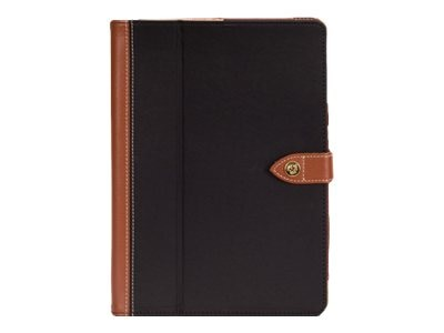 Griffin Folio Back Bay for iPad Air, Black Brown, GB38302, 16961762, Carrying Cases - Tablets & eReaders
