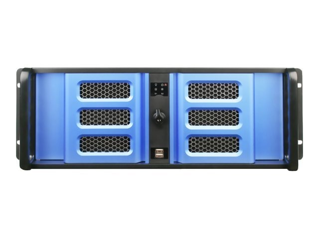 iStarUSA Chassis, 4U Compact RM, ATX, 2x5.25, 6x3.5, 7xSlots, D406SE-B6BL, 13243722, Cases - Systems/Servers