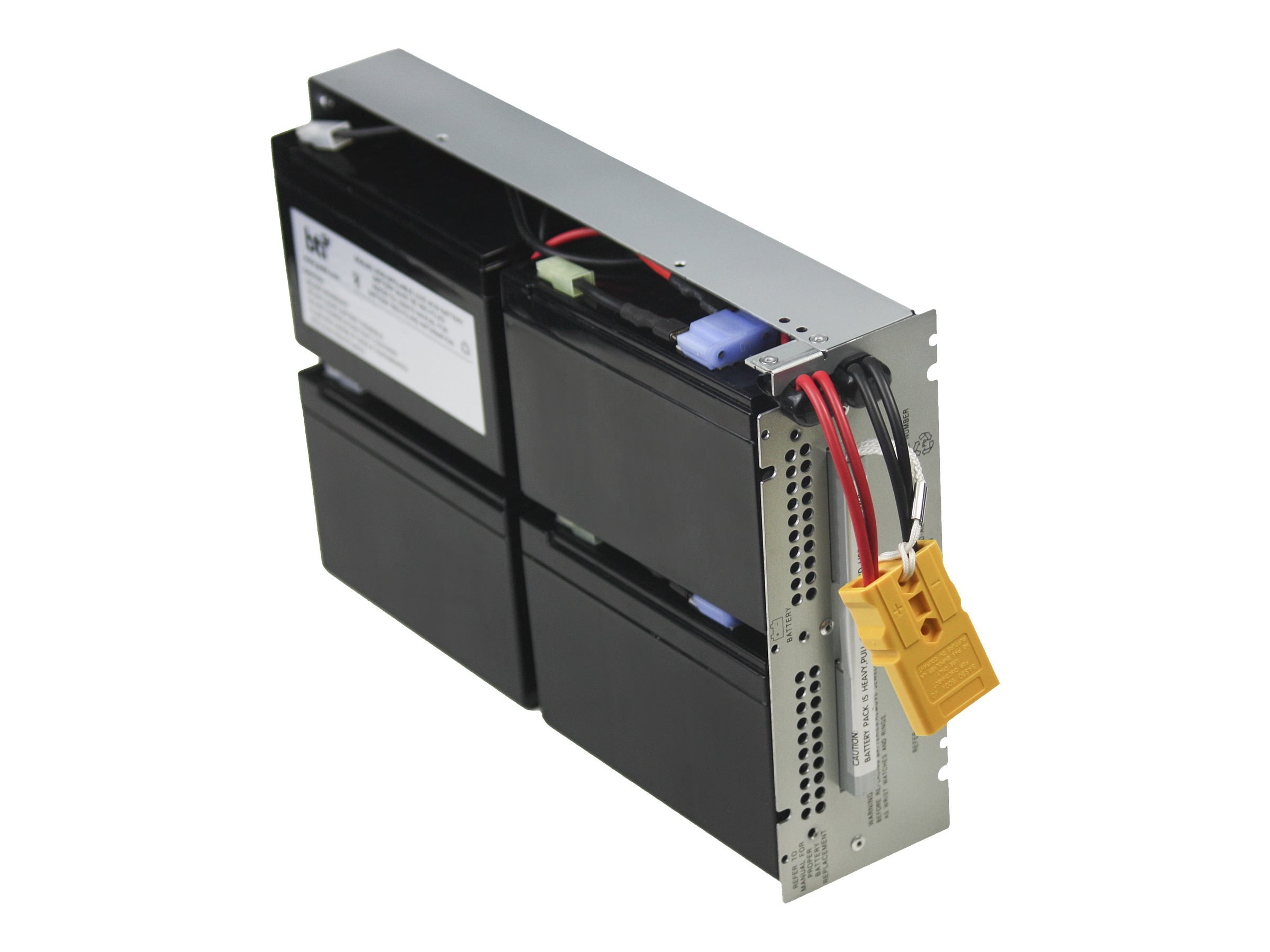 BTI Replacement UPS Battery for APC SMT1500RM2U RBC133 APCRBC133