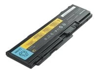 Lenovo Battery, Li-Ion 11.1V 3900mAh 6-Cell for ThinkPad T400S Series, 51J0497, 10028058, Batteries - Notebook