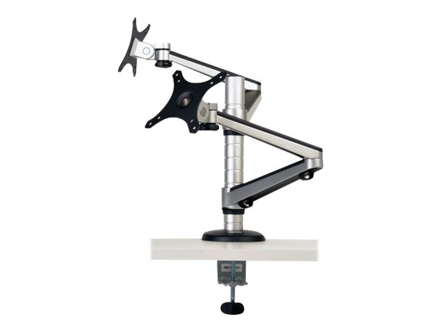Tripp Lite Dual Full-Motion Flex Arm Desk Clamp for 13-27 Displays, LCDs, Monitors, DDR1327DCS
