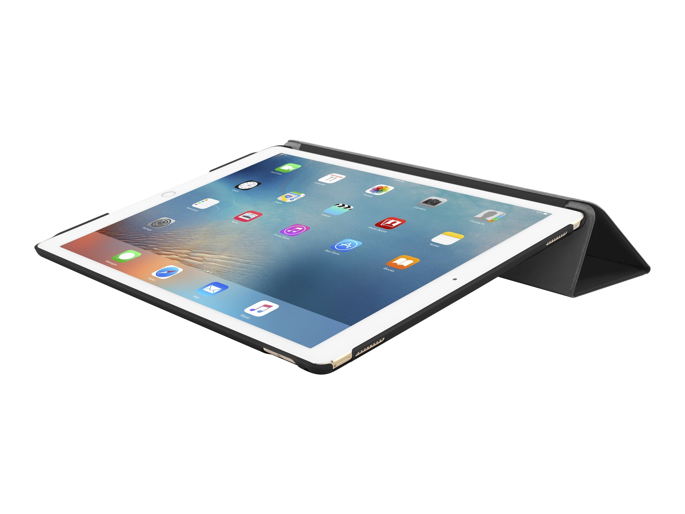 Incipio Feather Ultra-Thin Snap-On Case for iPad Pro 12.9, Black, IPD-287-BLK