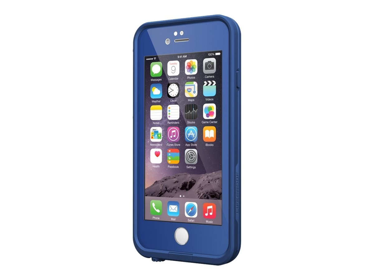 Lifeproof fre V2 for iPhone 6, Soaring Blue, 77-51326, 23623657, Carrying Cases - Phones/PDAs