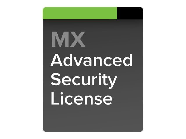 Cisco Meraki MX80 5 Year Advanced Security License, LIC-MX80-SEC-5YR, 13910791, Hardware Licenses